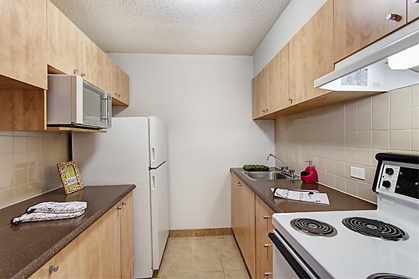 cuisine dans un appartement étudiant partagés avec collocs